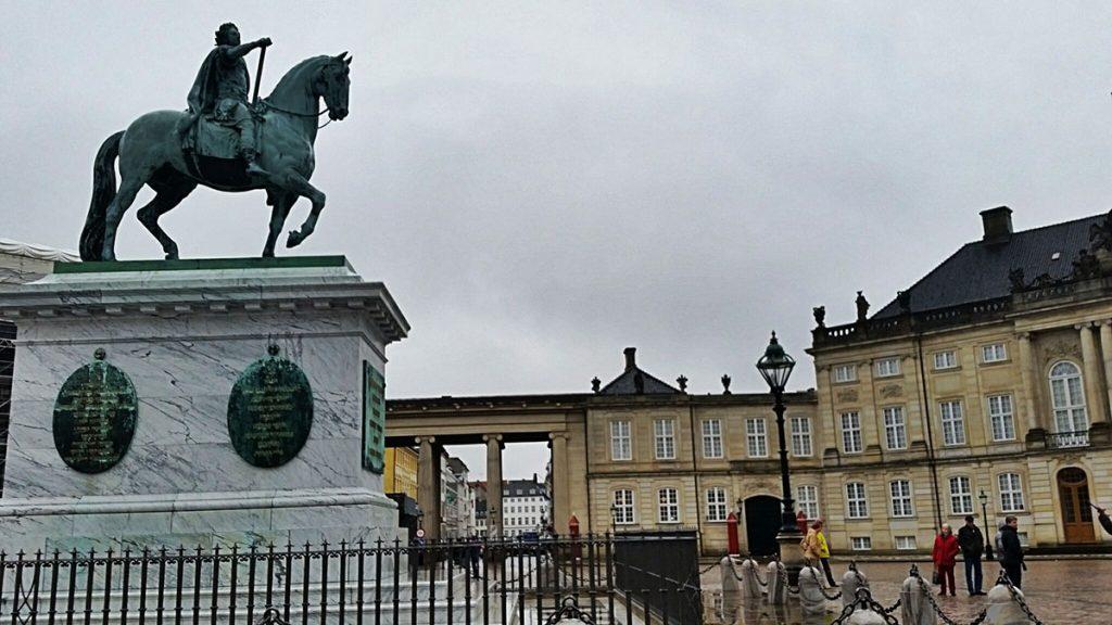 Amelienborg Sarayı - Kopenhag