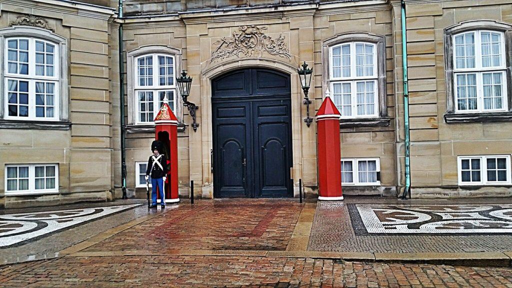Amelienborg - Kopenhag